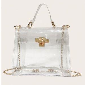 Handbags - Barely there bag transparent